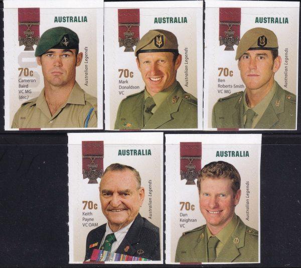 Australian Legends - Self Adhesives