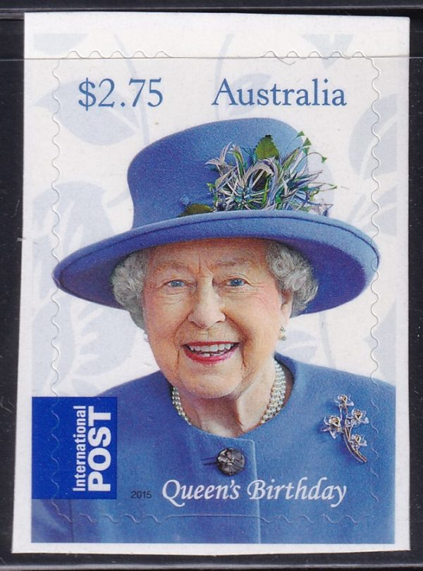 Queen Elizabeth II's Birthday - Self Adhesive