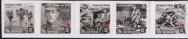 Centenary of World War I (2nd issue) - Self Adhesives