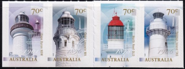 Centenary of Commonwealth Management of Lighthouses - Self Adhesives