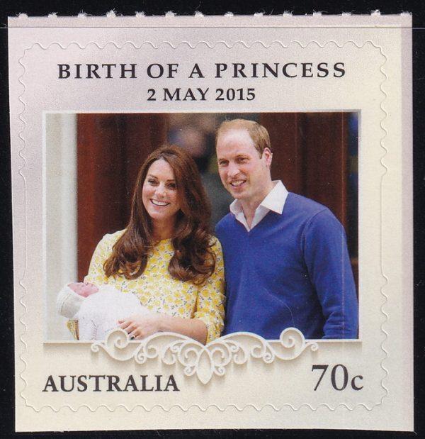 Birth of Princess Charlotte - Self Adhesive