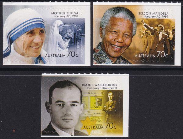 Honoured by Australia - Self Adhesives