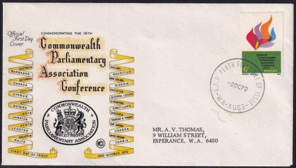 16th Commonwealth Parliamentary Association Conference