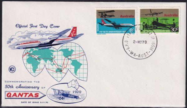 50th Anniversary of QANTAS Airline