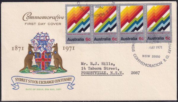 Centenary of Sydney Stock Exchange