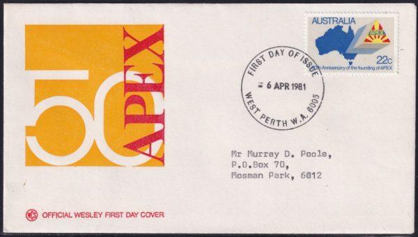 50th Anniversary of Apex