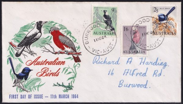 Birds issued 11 March 1964