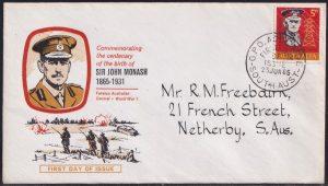 Centenary Birth of General Sir John Monash