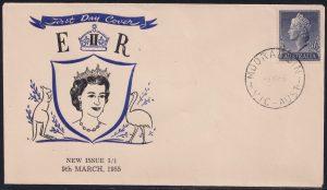 1'0½d Queen Elizabeth II