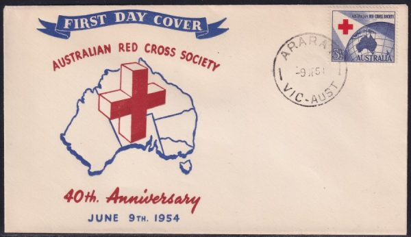 40th Anniversary of Australian Red Cross Society