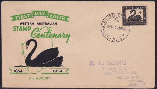 Western Australian Postage Stamp Centenary