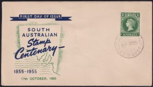 Centenary of First South Australian Postage Stamps