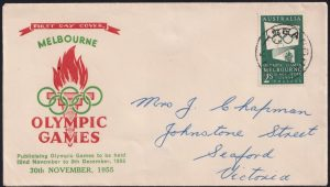 2/- Green Olympic Games Propoganda