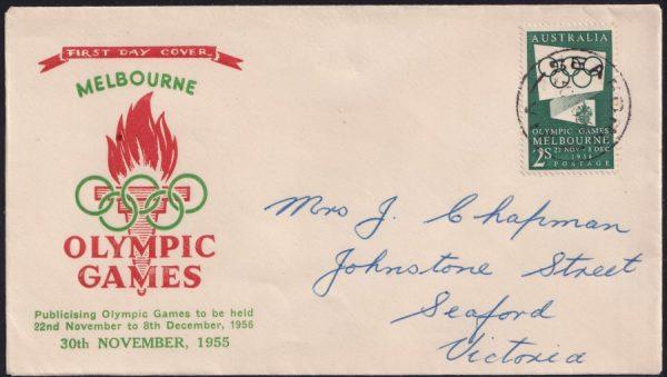 2/- Green Olympic Games Propoganda