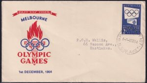 2/- Blue Olympic Games Propoganda