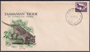 1/2d Tasmanian Tiger