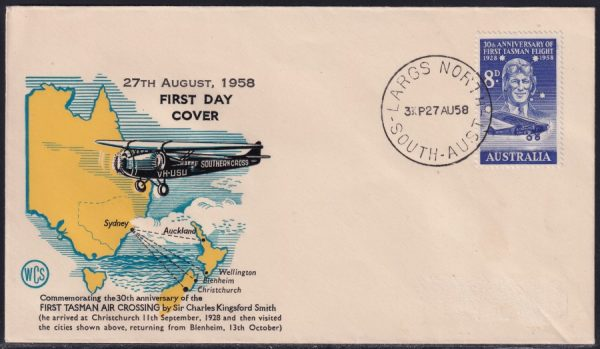 30th Anniversary of First Air Crossing of the Tasman Sea