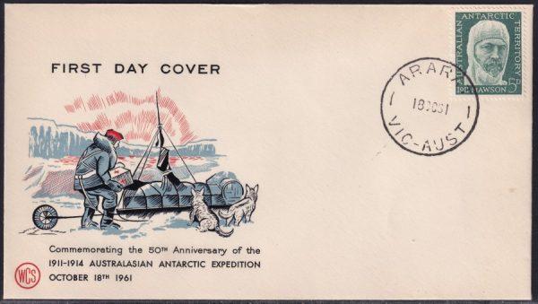 50th Anniversary of 1911-14 Australiasian Antarctic Expedition