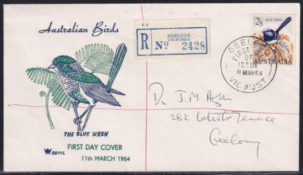 2/5d Blue Wren - Registered