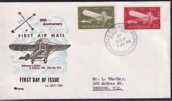 50th Anniversary of First Australian Airmail Flight
