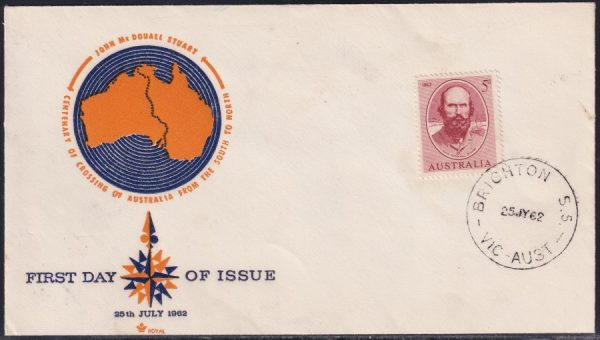 Centenary of Stuart's Crossing of Australia from South to North
