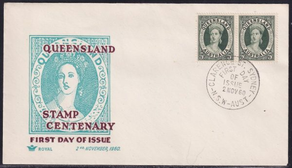 Centenary of First Queensland Postage Stamp