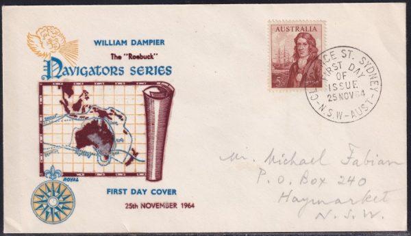 5/- William Dampier