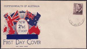 2½d purple-brown King George VI