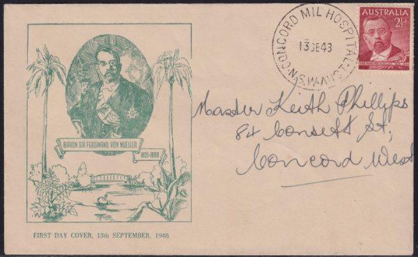 Sir Ferdinand von Mueller Commemoration