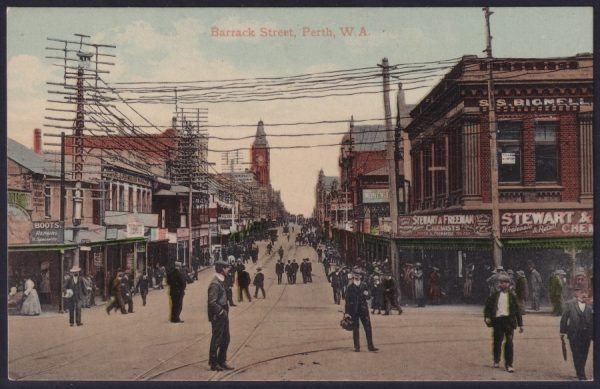 P Falk & Co Ltd - Barrack Street, Perth WA