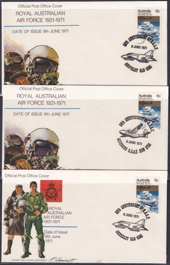 50th Anniversary of Royal Australian Air Force
